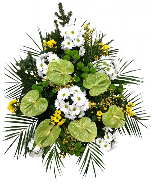 Funeral bouquet Romaneta