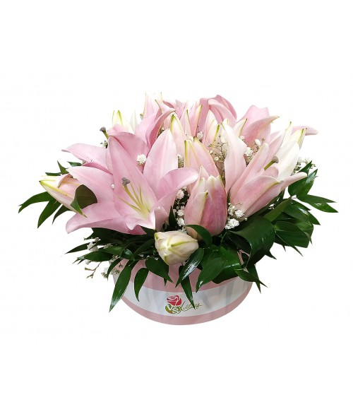 Box of lilies