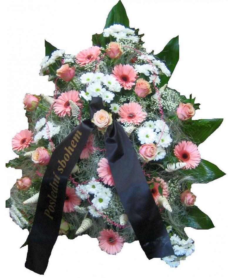 Smuteční kytice Lisoleta
