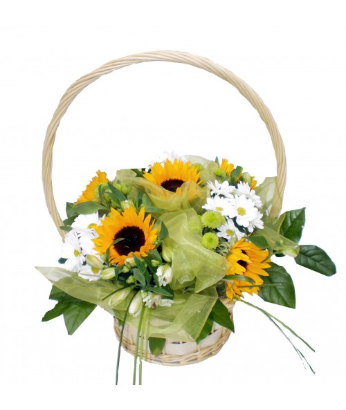 bouquet-sunflowers
