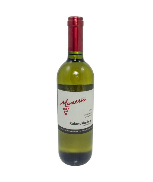 Víno Maděřič bílé