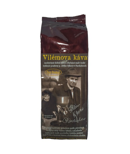 Vilémova káva 250g zrnková