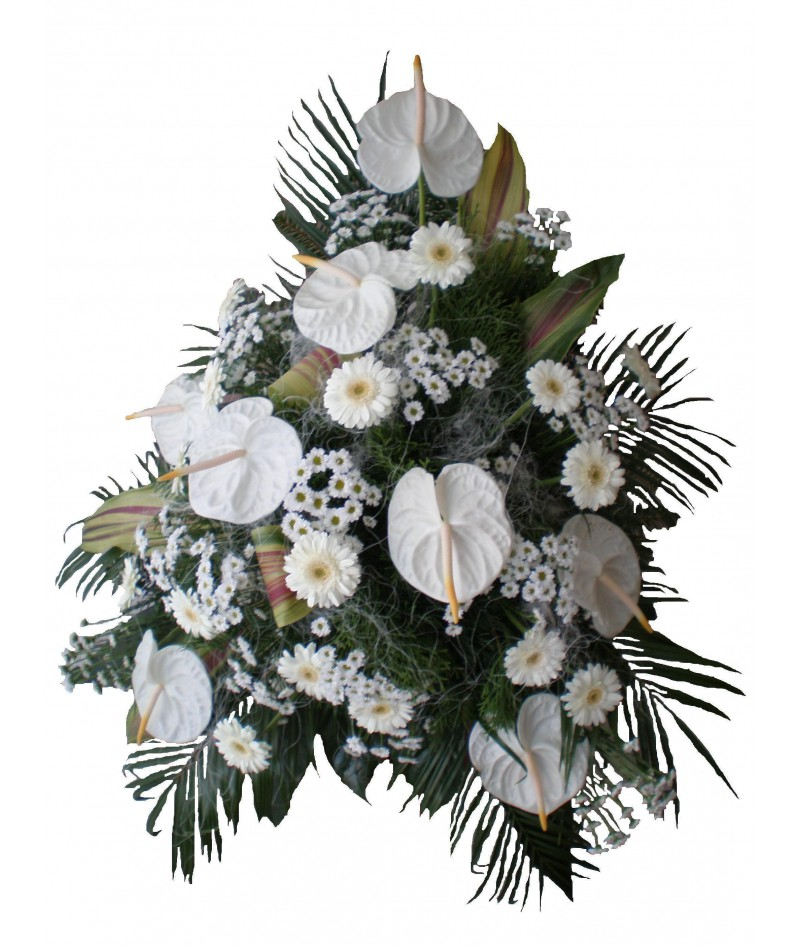 funeral-bouquet-white