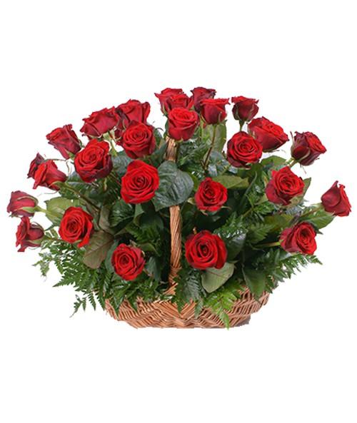 Koš růží