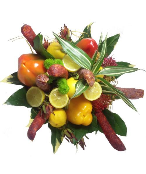 Salami bouquet