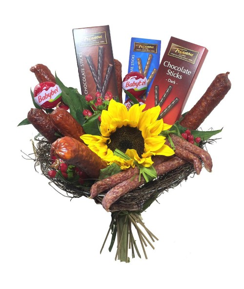 mens-bouquet-brno-sausages