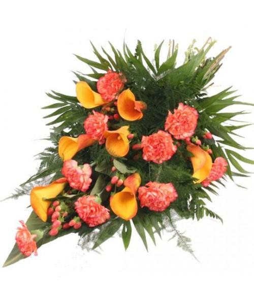 Smuteční kytice Caroline