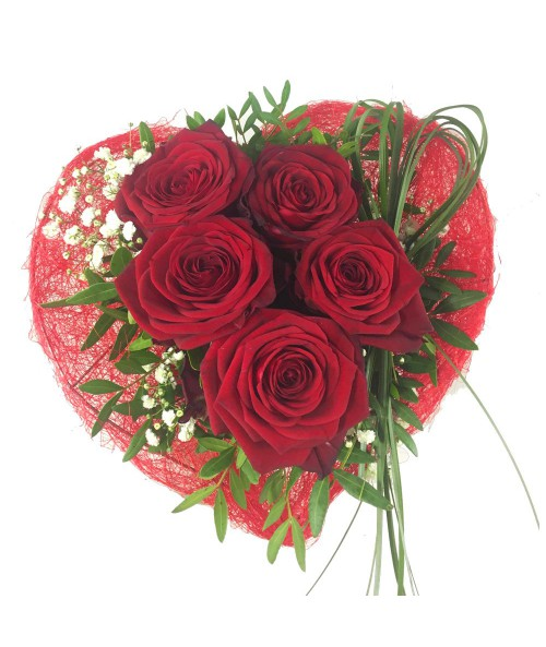 Roses from heart