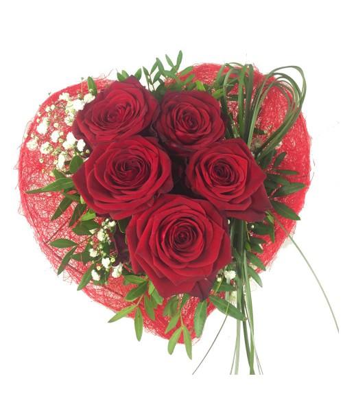 Růže ze srdce
