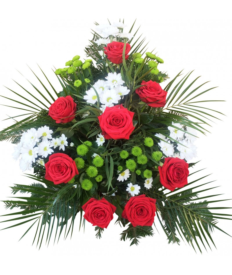 Funeral bouquet with delivery in Brno