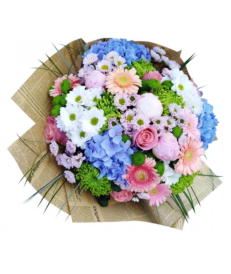 bouquet-hortensia-peonies-brno