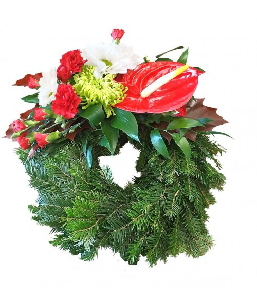 small-cheap-wreath-funeral-brno