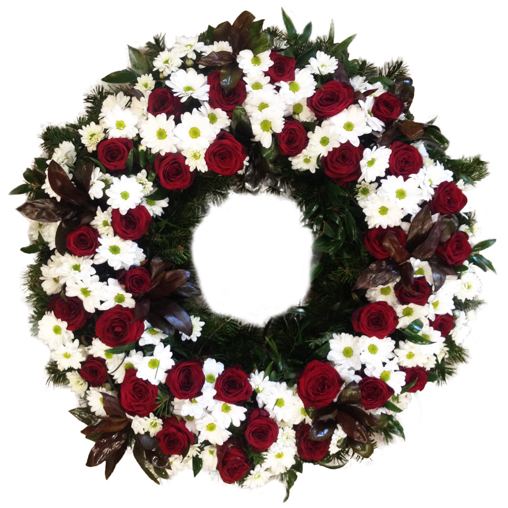 Appropriate funeral flowers kvtiny v funeral spray flowers designed for viewing from one side only prices for sprays are more suitable than for wreaths izmirmasajfo